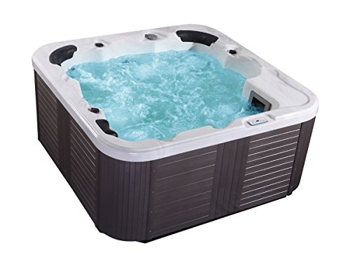 Outdoor whirlpool hot tub venecia color blanco con 44 masaje boquillas