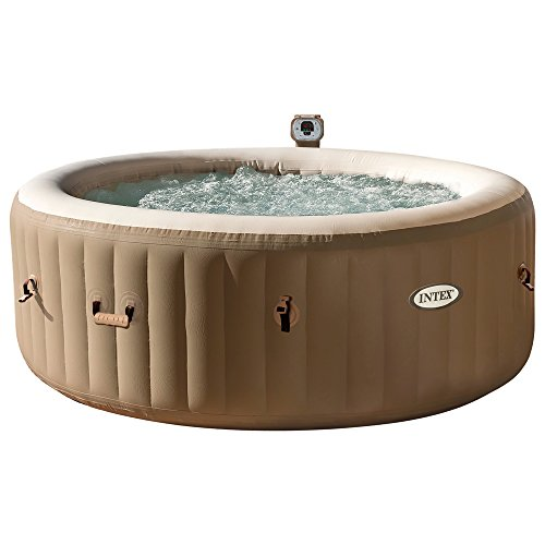 Spa hinchable intex burbujas & crema