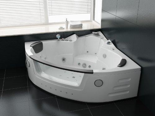152 x 152 bañera o cama de matrimonio whirlpool jacuzzi plenamente equipada