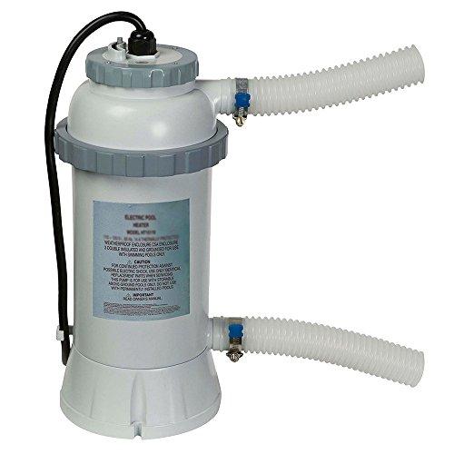 Calentador eléctrico intex para piscinas de hasta 457 cm