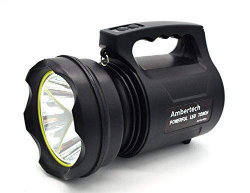 10000 lumens linterna de gran potencia linterna led de gran alcance linterna recargable super brillante spotlight al aire libre