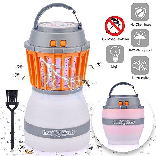 Lámpara camping antimosquitos linterna